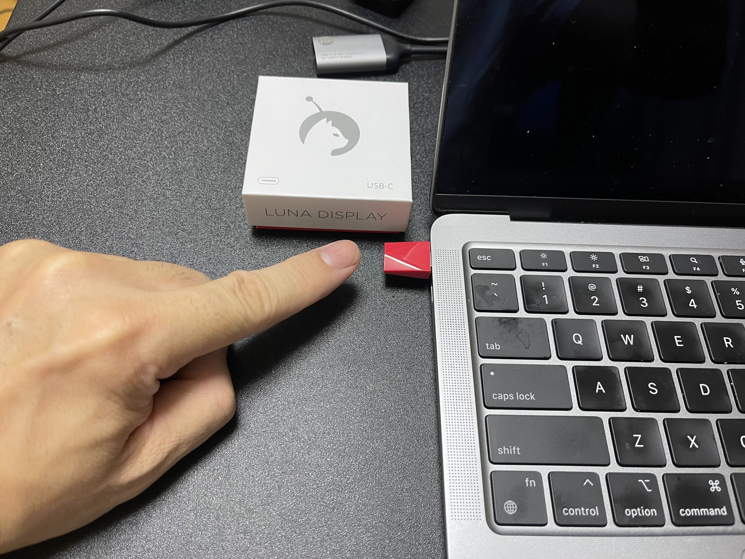 luna display connect